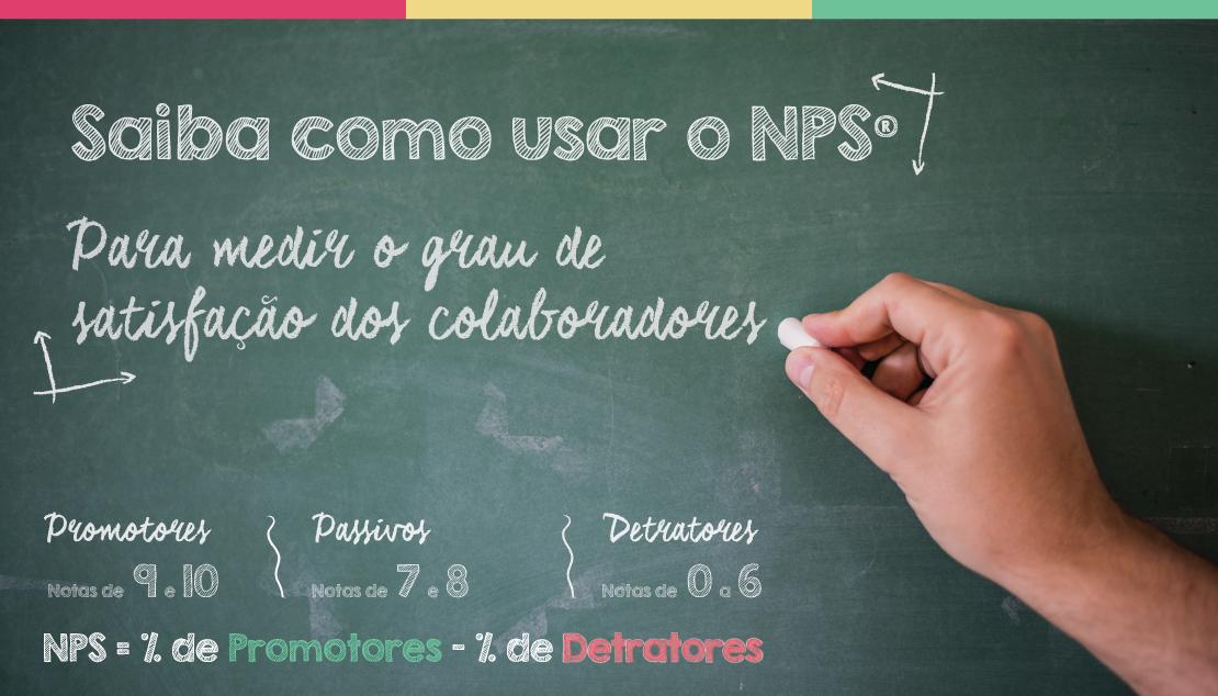 NPS® para saber a satisfação dos colaboradores