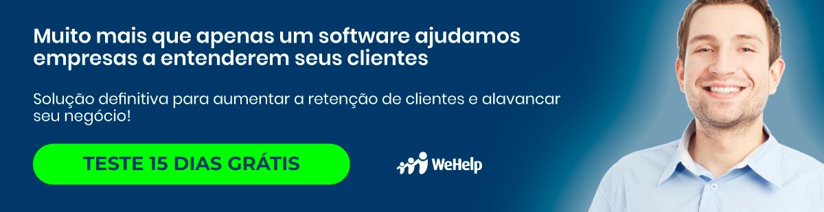 Teste Grátis 7 Dias o WeHelp - Software NPS